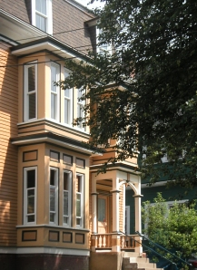 This is a view of the front of the house.